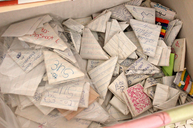 omg friendship & love letters...
